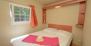 Chambre parental location mobil home confort